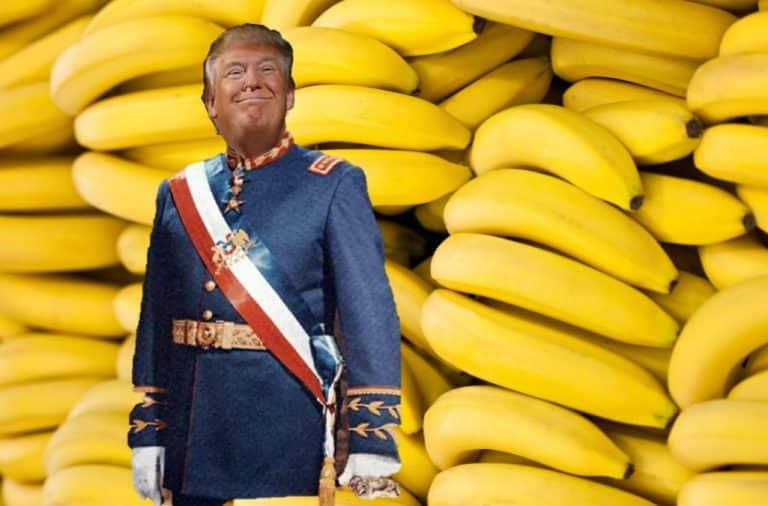 Trump banana republic