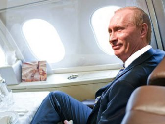 Putin air force one