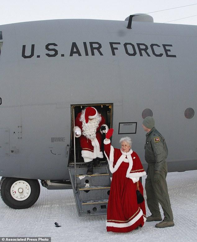 Arctic Santa