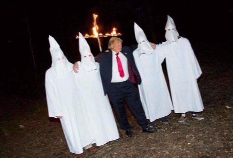 white house KKK