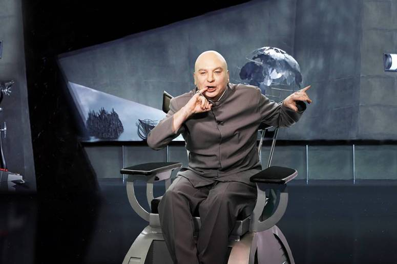 dr evil in his lair